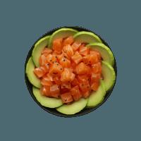 Small bowl saumon avocat