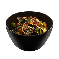 Salade Concombre Miso Rouge
