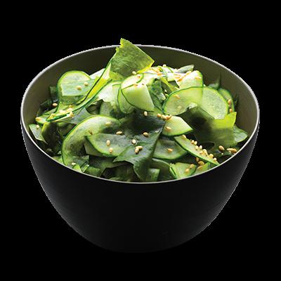 Salade Concombre & Algues