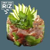 Tartare de thon spicy & riz