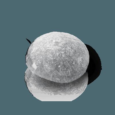 Mochi glacé sésame noir