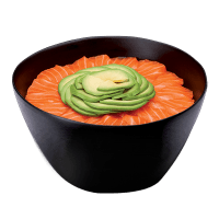 Chirashi Saumon Avocat