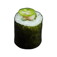 Maki yellowtail ponzu