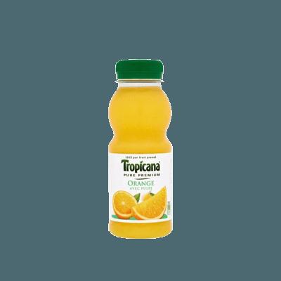 Pur jus d'orange 25cl Tropicana