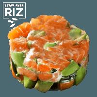 Tartare de saumon à l'aneth