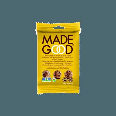 Billes de céréales chocolat banane
