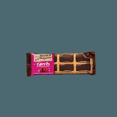 Petits carrés beurre et chocolat noir